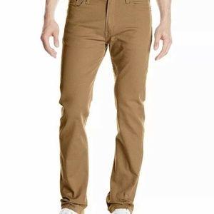 Levi's 513™ Tan Slim Straight Jeans 29X32